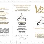 Plaquette de présentation de Voix vivante