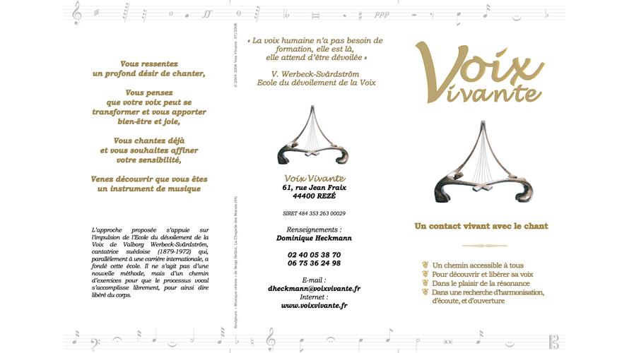 Plaquette Voix Vivante 2016 2017